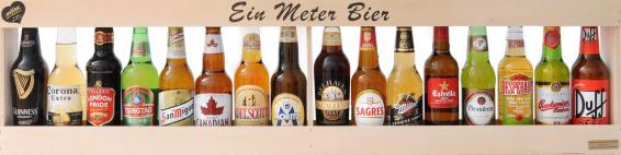 einen halben meter bier